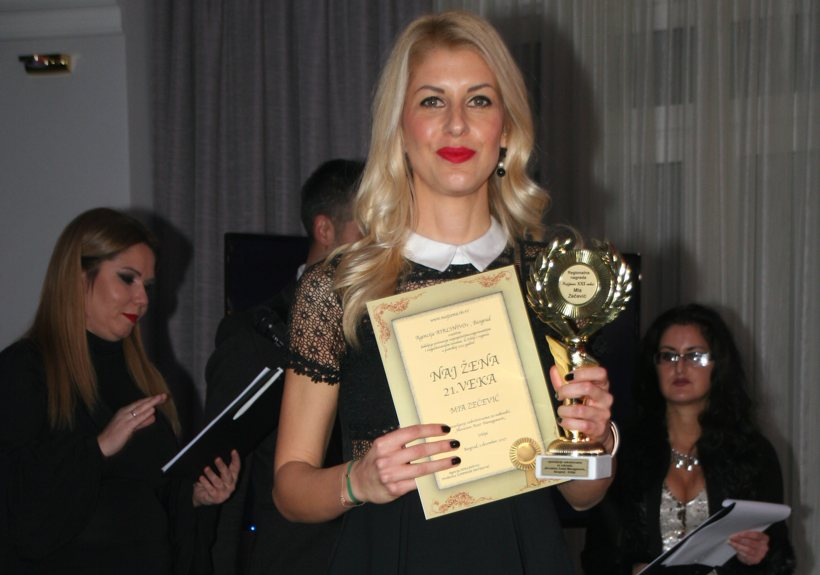 Mia Zečević - the best business women in XXI
