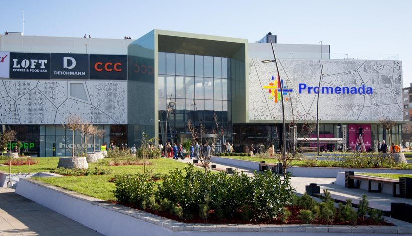 NMC new cooperation with Promenada Novi Sad